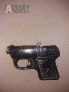 Prodám retro plechovou pistoli