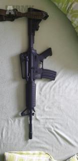 M4A1 Carbine + R28 + Taktická vesta