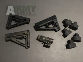 Magpul MOE, CTR, ACS, Magpuly, Eotech Magnifier