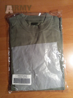 Tričko zelené AČR dlouhý rukáv vel 104-108 6 ks