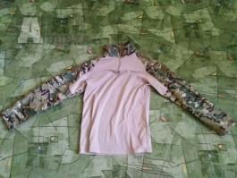 Šortky + combat tričko Multicam