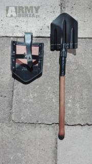 německá skládací polní lopatka M38 - Klappspäten
