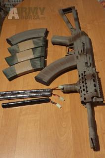 Vymením ak74 su  v upgrade za aug a2 KU901 BLACK ARMY ARMAMENT