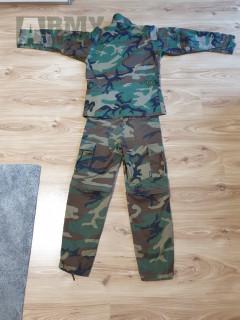 Maskáčové (détské XL) kalhoty MIL-TEC a blůza (XS) HELIKON-TEX