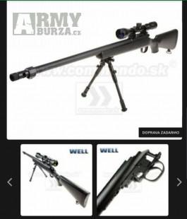 Prodám odstřelovačů manuál značka well