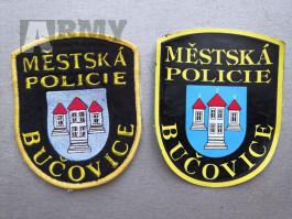 NÁŠIVKA MĚSTSKÉ POLICIE