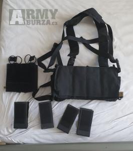 (P) Haley chest rig D3CRX black