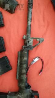 M4A1 AimTop celokov, upgraded, ±135 m/s