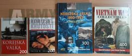 Knihy Korea a Vietnam