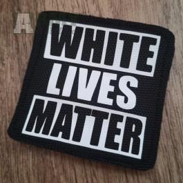 Velcro nášivka White lives matter