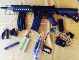 M4 CQB-R, D-Boys+náhradní díly