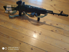 Prodám AK 74s, RPK a AEP Glock