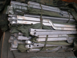 US Army lehátka - skládací postele polní postel