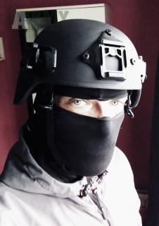 Taktická helma