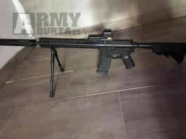 Prodám M4 + výbavu ke zbrani (Cm.068c P&J)