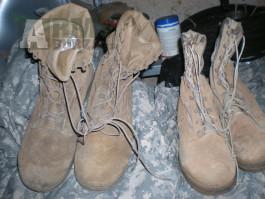 U.S. BELLEVILLE 390 boty letní coyote sand pískové US army
