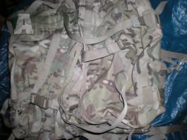 US Army multicam MOLLE II Large pack - MC batoh molle2 s rámem