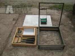 Praga V3S štábák - nábytek vybavení skříně