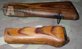 AK-47 pažba a podpažbí