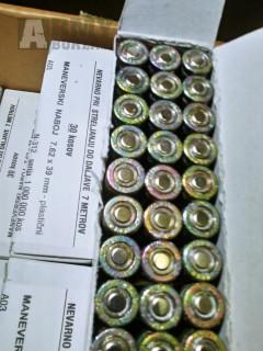 slepé střelivo AREX 7,62x39 / 720kusů