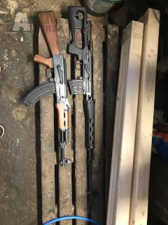 Prodám SVD Dragunov + Nefunkční AK-47