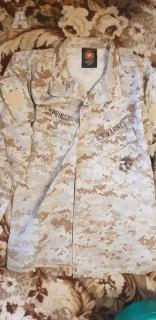 USMC MCCUU blúza marpat desert