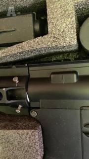 Prodám airsoftovou zbraň M4 URX3 CQB s novým nepoužitým motorkem.