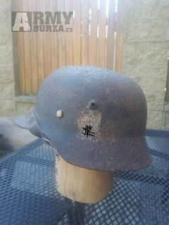 Originál helma/přilba M40 Wehrmacht