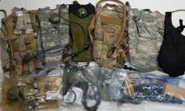 US Army Camelbaky, hydratační vaky, polní láhve