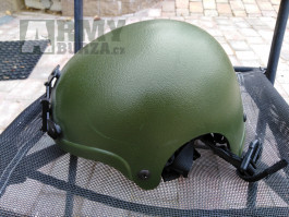 Prodám airsoft IBH helmu, sklolaminát - olive