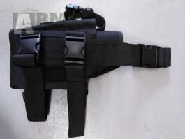 Stehenní pouzdro na pistoli cal 44 - černé