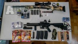Prodám airsoftové zbraně buť obě na ráz nebo každou zvlášt.