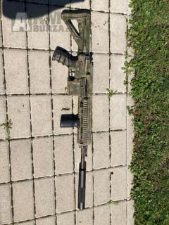 Plynová zbraň Hk416