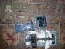IFAK MC multicam Molle 2 US Army CAT škrtidlo Izrael bandage HH gaze