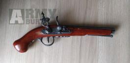 Replika křesadlové pistole