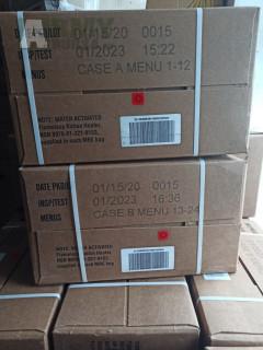 US MRE A i B krabice inspekce 2023!!!