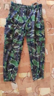 Vojenské kalhoty vel. M britský vzor