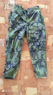 Vojenské kalhoty český vzor
