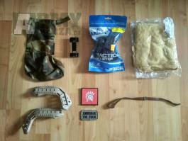 mix - pouzdro glock G17, FAST rail, montáž MP5 a další