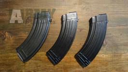 3 X zásobníky na AK 47 a jeho klony