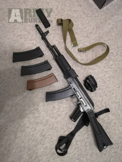 AK74 MN LCT Upgrade přes 130 m/s