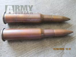 Druhoválečné střelivo 7,62x54R- průbojně zápalné