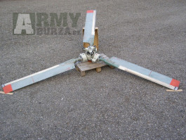 Prodám vyrovnávací vrtuli z vrtulníku Mi-8