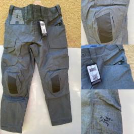 Arcteryx assalut FR pants šedé