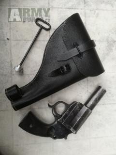 německá signální pistole LP34 + replika futrálu
