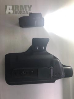 Svitilna inforce aplc glock verze a RH kydex