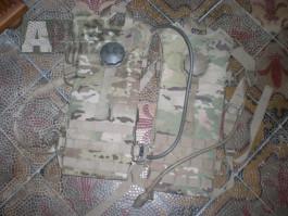 MC US ARMY Vak na vodu molle II na vestu a batoh multicam OCP