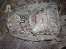 US army U.S. Multicam MOLLE II batoh medium BAE