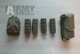 Sumky Direct Action v barvě adaptive green, IFAK, SMG sumky, Utility, pistol