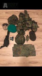 BundesWehr uniforma a zbytek AS věcí
